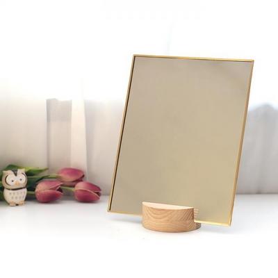 골드라인 사각 탁상 거울