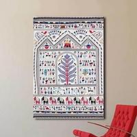 행복나무 디자인 패브릭포스터 (150*200)