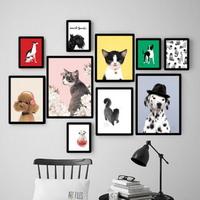 비비드정글 강아지 고양이 액자 40x50 (중형)
