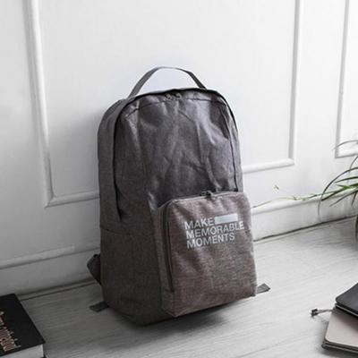 휴대용 접이식 백팩 여행 가방