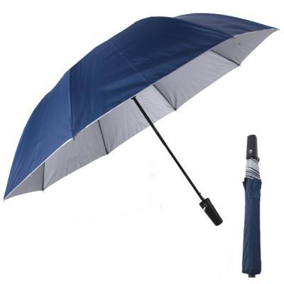빅토 우산 2단 반자동 네이비