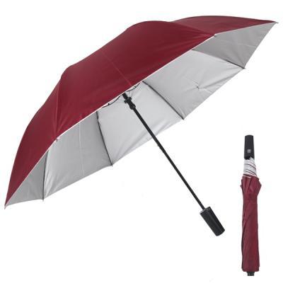 빅토 우산 2단 반자동 다크브라운