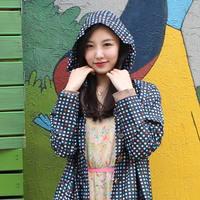컬러도트 레인코트_블랙(파우치포함)
