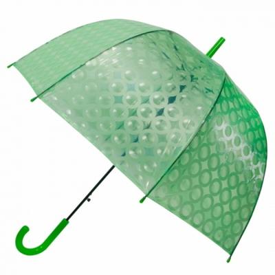스팽글 그린 투명 예쁜 장우산