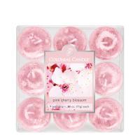 [COLONIAL CANDLE 콜로니얼 캔들1915] 티라이트(9pk)캔들/ 분홍 벚꽃