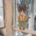 고양이삼촌 - 종이인형 4종세트 Part.1