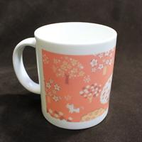 벚꽃 머그컵-C.고양이벚나무