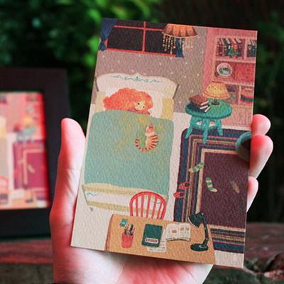 생각의 방 포스트카드