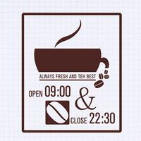 (LU-S101) 오픈클로즈_베스트커피