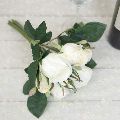 아트데코 장미 번들 로즈 조화꽃