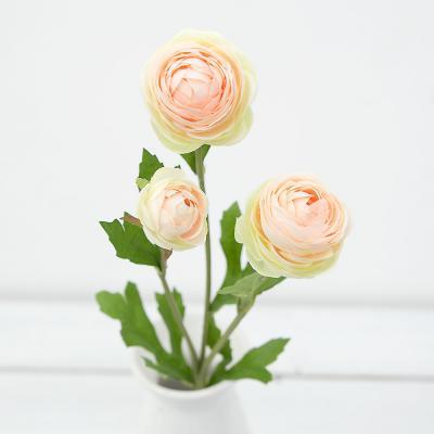 세송이 러넌큘러스 꽃 가지 42cm 조화