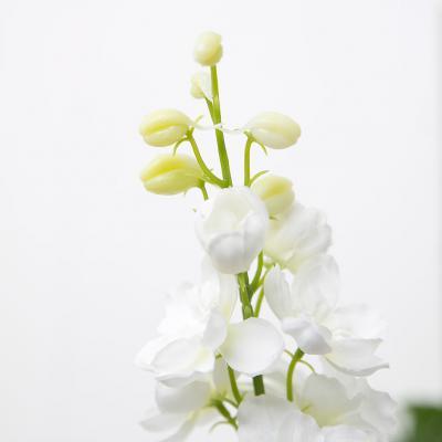 화이트 델피니움 꽃 가지 98cm 조화