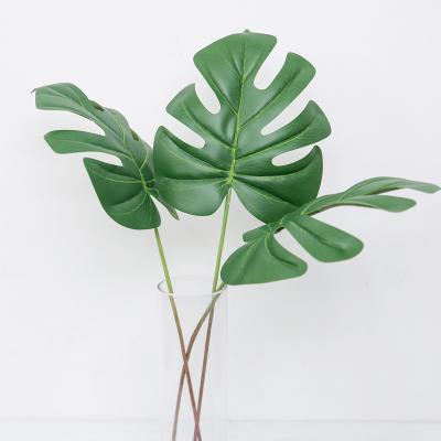 트로피칼 몬스테라 잎 인조나무 조화가지