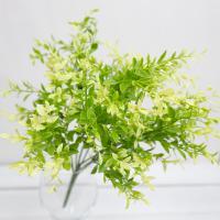 차잎 새순 부쉬 조화 잎사귀 봄 식물