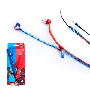 마블정품 캡틴아메리카 시빌워 지퍼 이어폰