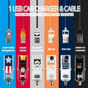 (스타워즈-마블정품) CAR CHARGER BUDDY 1 USB