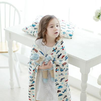 [디자인블랭킷] 북유럽 아기 유아 낮잠 이불 무릎담요