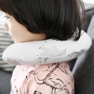유아 차량용목쿠션 아기목베개 카시트 유모차 베개