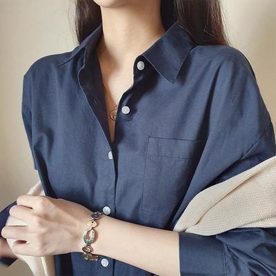 오버핏 셔츠 미니 원피스 3color