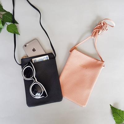 여행용 핸드폰 지갑 미니 크로스백