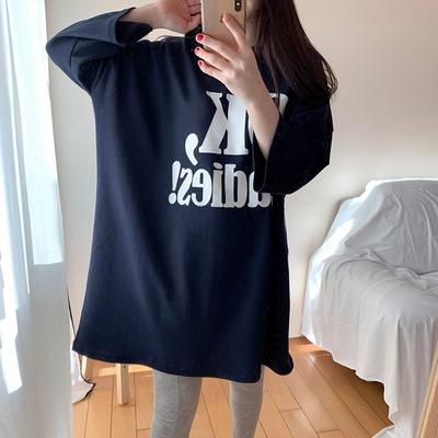 오케이 롱 티셔츠 오버핏 국내생산