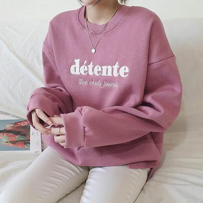기모 데자뷰 맨투맨 티셔츠 4color