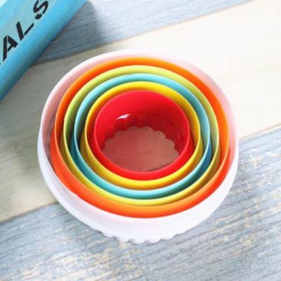 라운드 쿠키커터1개(색상랜덤)