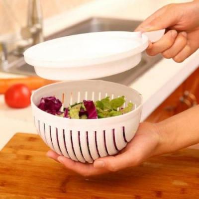 키친 야채과일 샐러드커터볼1개(랜덤)