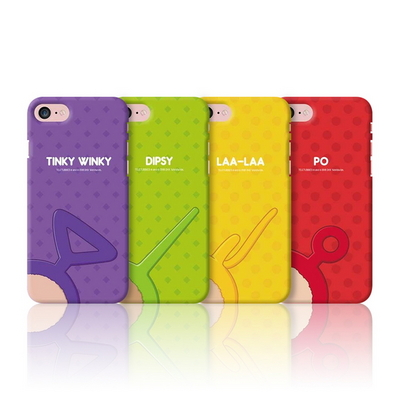 아이폰7(8) 텔레토비 안테나 컬러 슬림 하드 케이스