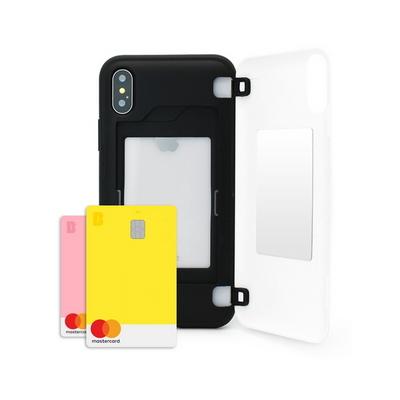 LG G6 마블 어벤져스 엔드게임 엠블럼 멀티 카드수납 도어 범퍼 케이스