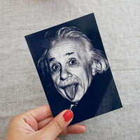 [PYRAMID] 알버트 Einstein(Tongue) 엽서