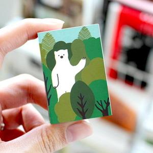 브리스크스타일 성냥(Little forest Bear)_10개입