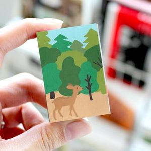 브리스크스타일 성냥(Little forest Deer)_3개입