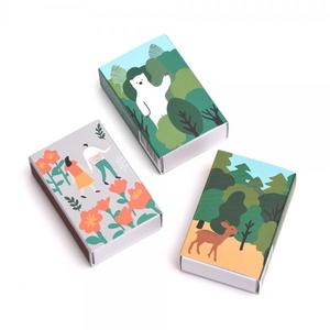 브리스크스타일 성냥(Deer/Bear/Flower Set)