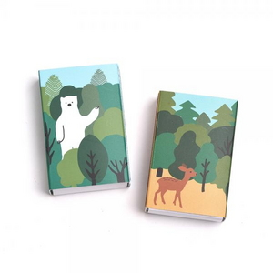브리스크스타일 성냥(Little forest Deer/Bear Set)