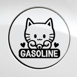 주유구_마네키네코_가솔린 (자동차스티커 주유구스티커)