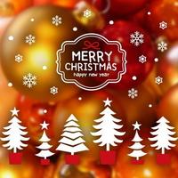 크리스마스 눈꽃 스티커 장식 CMS4J247 사랑스런 크리스마스 트리