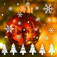 크리스마스 눈꽃 스티커 장식 CMS4J245 리틀 크리스마스 트리(1색)