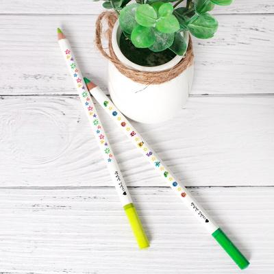네임색연필 제작 몽땅 파블 오일색연필 12색 각인