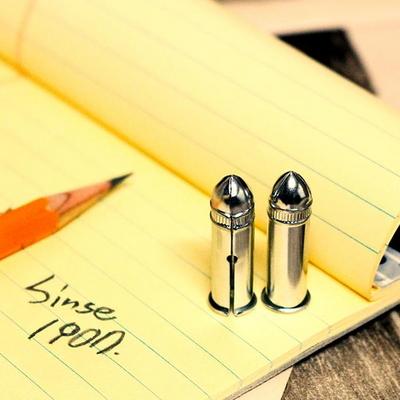 [DUX] 독일 빈티지 철제 연필캡 뚜껑 실버