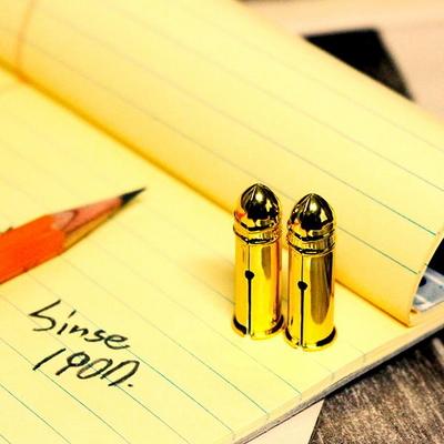 [DUX] 독일 빈티지 철제 연필캡 뚜껑 골드
