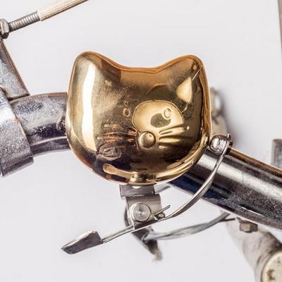 [썩유케이] 빈티지 황동 자전거벨 고양이