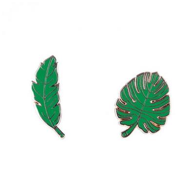 [도이] 캐릭터 패션 브로치 나뭇잎