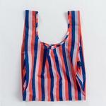 [바쿠백] 스탠다드 에코백 장바구니 Red 90s Stripe
