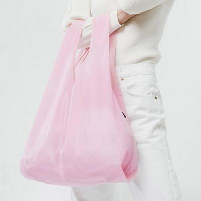 [바쿠백] 스탠다드 에코백 장바구니 Cotton Candy