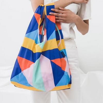 [바쿠백] 스탠다드 에코백 장바구니 Quilt Star