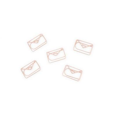 [썩유케이] 다용도 고정 페이퍼 클립 편지봉투 로즈