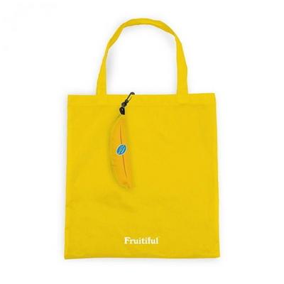 [럭키스] 휴대용 장바구니 접이식 시장가방 바나나