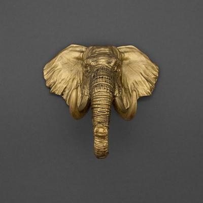 [럭키스] 다용도 코끼리 열쇠 소품 걸이