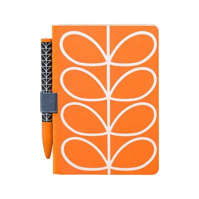 [올라카일리] 포켓 노트 수첩 볼펜 세트 오렌지